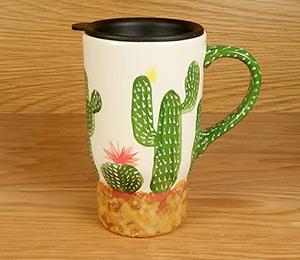 Burbank Cactus Travel Mug