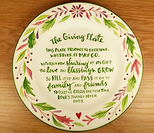 Burbank The Giving Plate